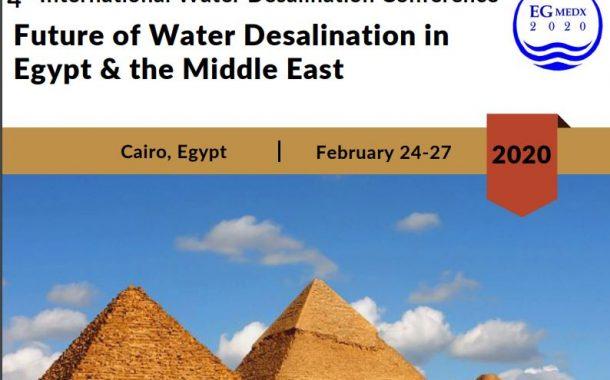 مصر تنظم المؤتمر الدولي الرابع حول مستقبل تحلية المياه في مصر والشرق الاوسط فبراير المقبل