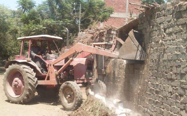 الرى تواصل حملات الإزالات للتعديات على نهر النيل والمجاري المائية