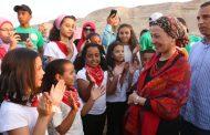 وزيرة البيئة تختتم مهرجان الطبيعة الأول لصون الموارد الطبيعية بالمحميات