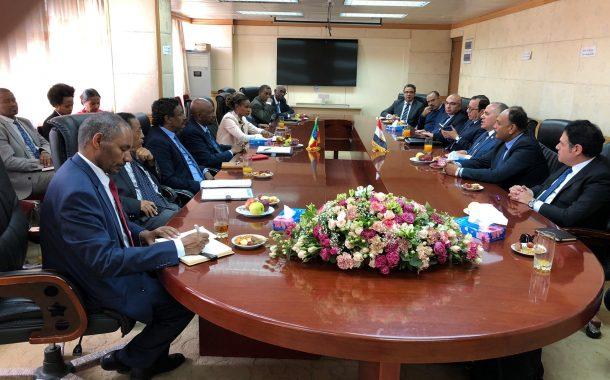 عاجل... وزير الري يسلم نظيره الأثيوبي وجهة نظر مصر حول قواعد ملء سد النهضة (صور)