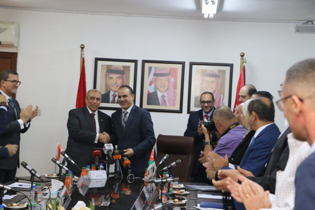 تفاصيل لقاء وزير الزراعة ونظيره الاردني بحضور