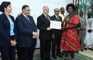 وزير الرى يشارك في حفل ختام البرنامج التدريبي للكوادر الفنية الأفريقية