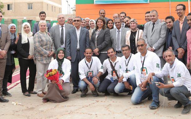 البنك الأهلي المصري يساهم في تطوير منظومة المدارس بالمحافظات