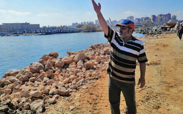 رئيس مشروعات البحر المتوسط:حماية بركة غليون باستخدام 16 راس حجري لحماية مشروع الاستزراع السمكي ومحطة الكهرباء