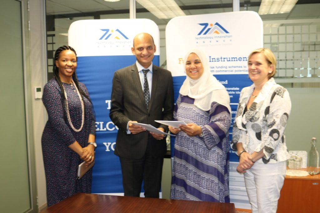 توقيغ إتفاقية لدعم الإبتكار بين أكاديمية البحث العلمي وجنوب أفريقيا