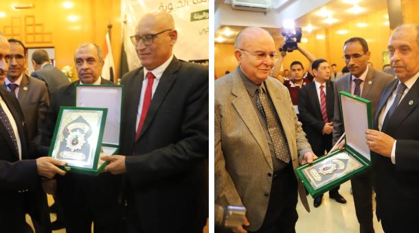 وزير الزراعة يكرم 31 شخصية الأكثر تأثيرا في تطوير القطاع الزراعي