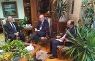 وزير الري يلتقى السفير الأسباني بمصر لبحث موقف مفاوضات سد النهضة