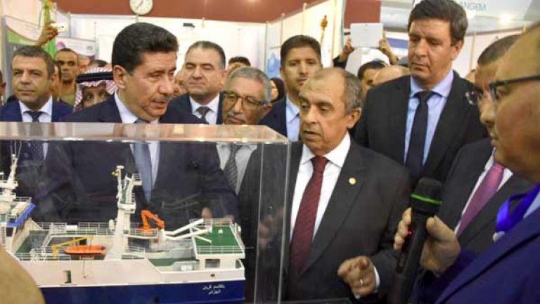 تفاصيل لقاء وزير الزراعة مع نظيره الجزائري خلال إفتتاح معرض الصيد في مدينة وهران