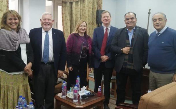 رئيس الحجر الزراعي يلتقي وفدا من البنك الدولى للتوافق مع بنود اتفاق تسهيل التجارة