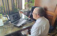 بسبب كورونا ...وزير الري يتابع الأعمال مع القيادات عبر تقنية الفيديو كونفرانس