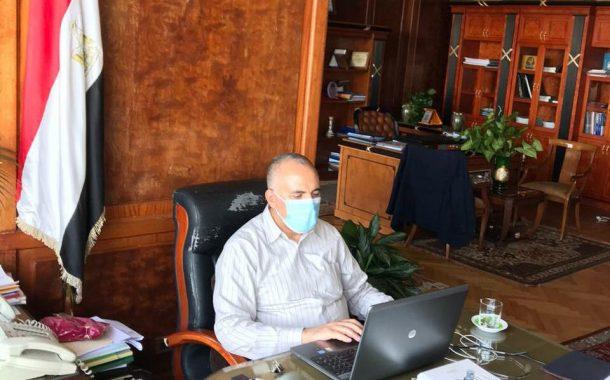 تفاصيل لقاء وزير الري بوكلاء الوزاره بالمحافظات لمتابعة تنفيذ مشروع التحول للري الحديث وتدوير القمامة