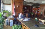 وزيرا الري والزراعة يبحثان تحويل مساحة 175 ألف فدان للري الحديث بالوادي الجديد